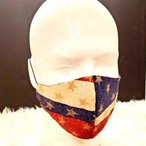 3 for $ 15 American glitter mask (Bundle & Save)